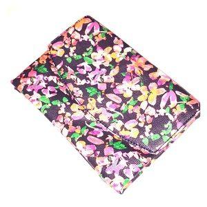 ANN TAYLOR floral envelope clutch
